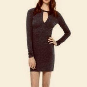 Wilfred Free Long Sleeve Keyhole Dress Size L